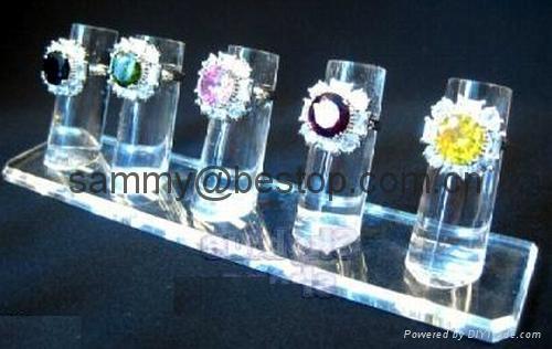 有机玻璃戒指展示架(七件头) 2