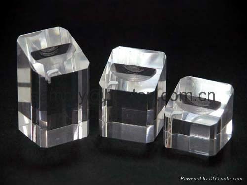 有机玻璃戒指展示架(三件) 2