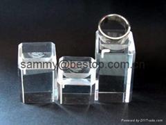 有机玻璃戒指展示架(三件)