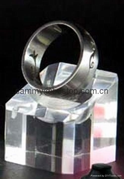 有机玻璃戒指展示架(三件) 4