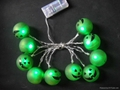 LED light with Halloween decoration by battery operated lighting  5