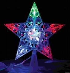 10LED treetop star Christmas tree