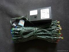 600LED string SAA Australian adaptor