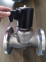 欧文凯利 OK7150B-B016  法兰式不锈钢活塞电磁阀