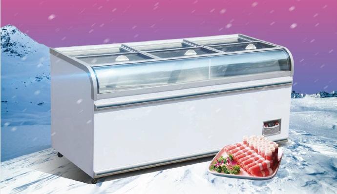E8 LANSING end freezer