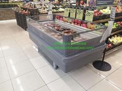 Supermarket Plug-in Display Freezer Hot Sale
