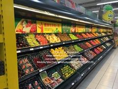 Supermarket Vegetable Fridge