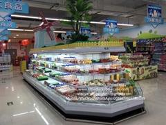 E7 ORLANDO Supermarket Semi Vertical Refrigerator