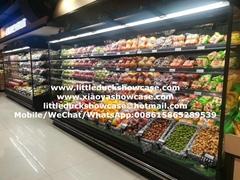 E7 AUKLAND Supermarket Vegetable Display Fridge