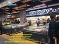 E8 LANSING Supermarket Island Freezer