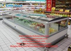 E7 INDIANA Supermarket Island Freezer