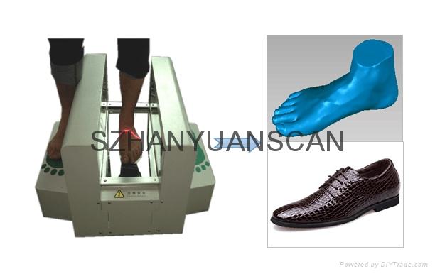 3d腳型量腳器 3