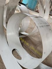 不锈钢板激光开孔卷焊加工腔体