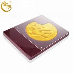 金朔手印泥 開合式手模 個性手模定做 產品發布會 週年慶啟動儀式
