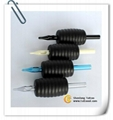 Black Rubber Gripped Disposable Grips (Oval)