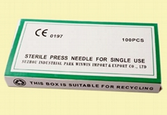 Press needles