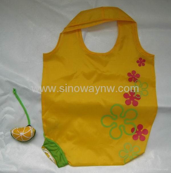 Best selling varoius fruit polyester foldable bags 3