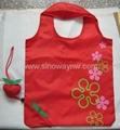 Best selling varoius fruit polyester foldable bags 4