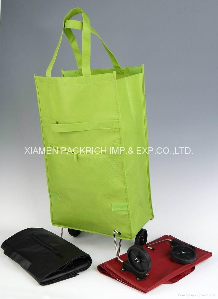 High recommended Non-woven Trolley Bags