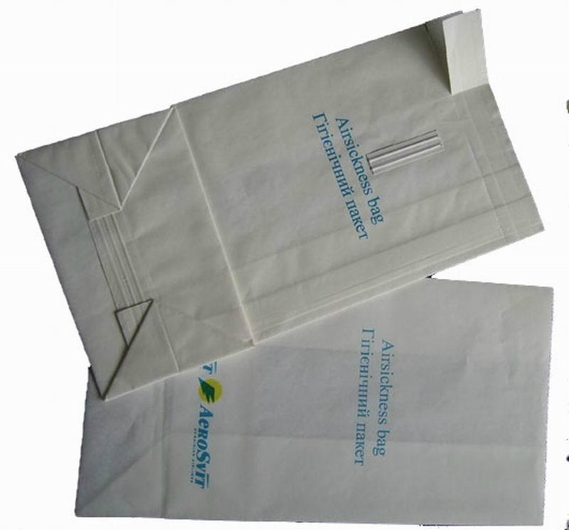 Promotional Airsickness paper bags