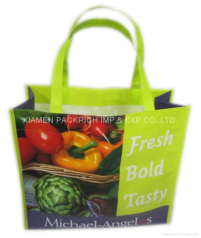 Durable PP non woven shopping bag 1