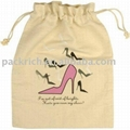 Eco-friendly Cotton Shoes Bag