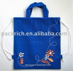Non Woven Drawstring Bag With Carrying Handles