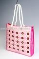 Laminated non woven shopping bag with