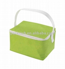 Reusable polyester cooler packing bag for 6 can