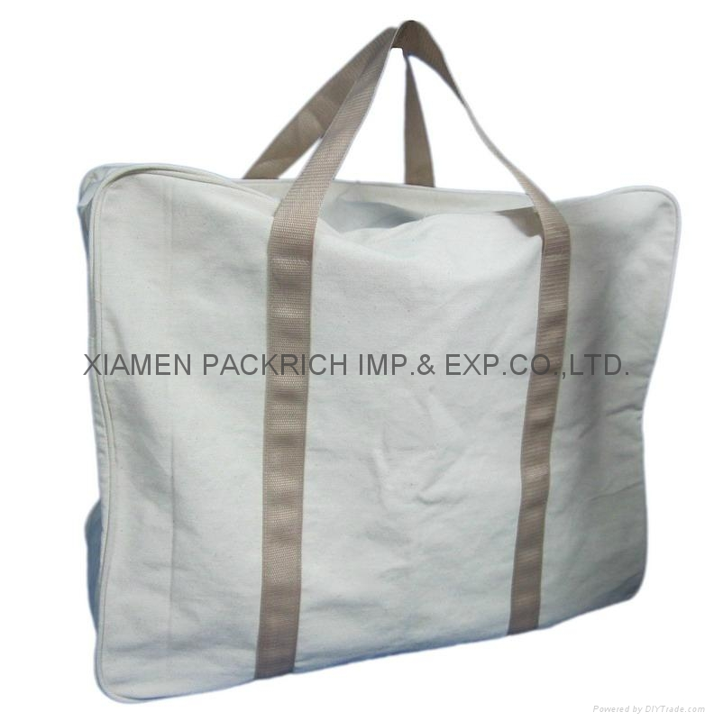 Large Cotton Canvas Travel Packing Bags 2