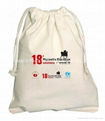 Promotional Cotton drawstring Bag  (Hot Product - 1*)