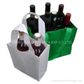 High recommended non woven PP wine bottle bag