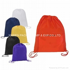 Various Color Nylon Drawstring Bag