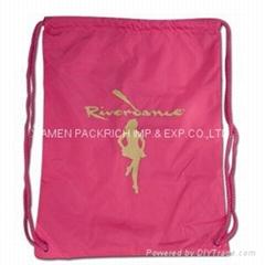 Nice looking nylon gym sack bag