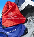 2014 Hot polyester drawstring gym bags