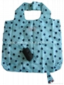 210D polyester foldable bags with full printing
