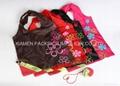 polyester fruit shape foldable gift bags