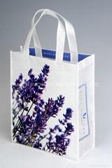 High performance non woven lamination shopping bag