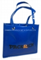 Customed design laminated PP non woven tote bag