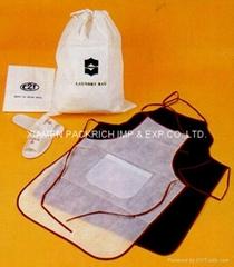 Reusable non woven polypropylene aprons