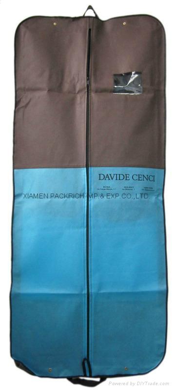 Zippered non woven wedding dress bag  1