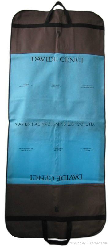 Zippered non woven wedding dress bag  2
