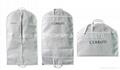 Foldable non woven garment cover