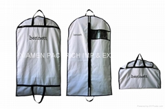 Luxury PEVA travel carrier suit packing bag