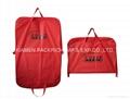Beauty red PEVA foldable garment bag
