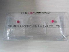 New arrival transparent PVC cosmetic bag for making up