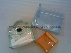 High quality colored PVC handled bag