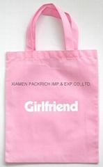 Pink non woven kids beautiful gift bag