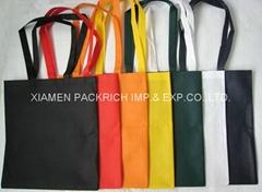 Various coloful non woven plain shopping bag