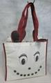 cute printing non woven shopping bag